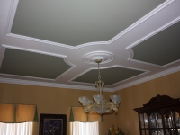 Pic frame on ceiling