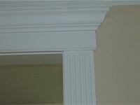 Fluted sides & ornamental top