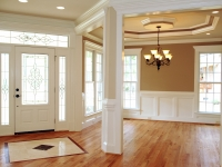 Crown, Wainscoting, Opening