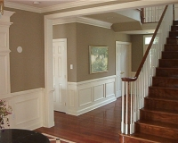 Wainscoting, Crown & Opening