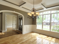 Opening, Wainscoting & Coffered