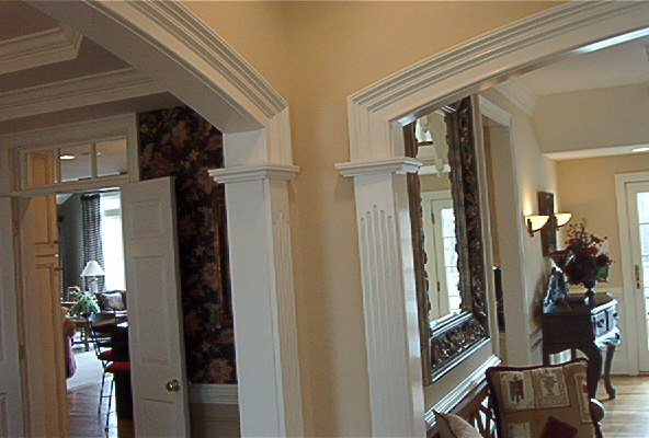 Custom door trim